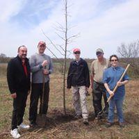 Living Legacy Tree Planting